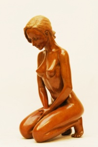 Sculpture érotique Luxure, souvenance, pudique de Margot Pitra